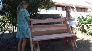 One-Piece Folding Picnic Table out of 2×4 Lumber : appendex 2a