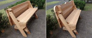 One-Piece Folding Picnic Table Out of 2x4 Lumber : start 2