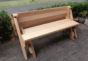 One-Piece Folding Picnic Table out of 2×4 Lumber : step 16a
