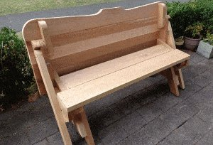 One-Piece Folding Picnic Table out of 2×4 Lumber : step 16b
