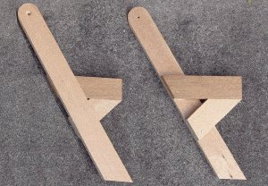 One-Piece Folding Picnic Table out of 2×4 Lumber : step 5b