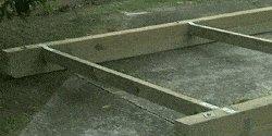 10 x 10 Tudor Style Shed : storage shed base