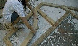 10 x 10 Tudor Style Shed : Tudor style shed curved bracing