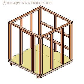 Chicken Coop Frame