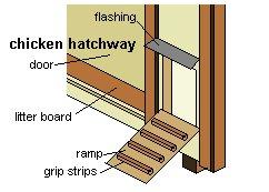 Chicken Coop Hatchway