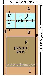 Playhouse Plans : Door Parts