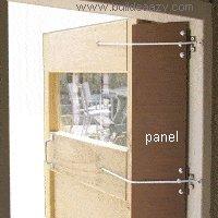 playhouse door jamming hazard area