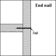 end nail