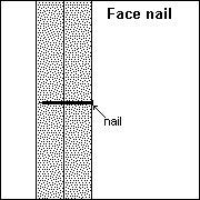 face nail