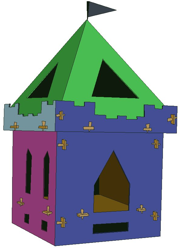Kid Castel Playhouse Plan