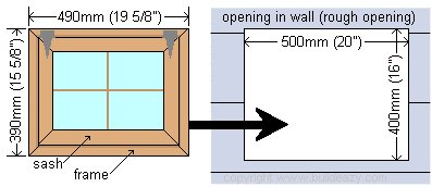 Playhouse Plans : Window Dimensions