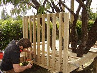 Treehouse Plan : Fix the Handrail to the Tree House
