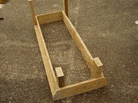 Platform Cart Project : Complete the External Frame Work