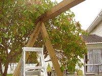 swing-set frame