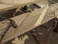 Treehouse Plan : Chisel Out the Treehouse Stair Stringers