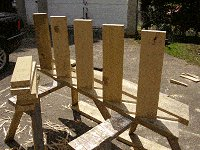 Treehouse Plan : Fit the Front Treads into the Rebate in the Stringer