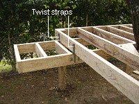 Treehouse Plan : Make the Landing for the Tree House Floor