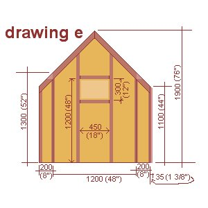 playhouse side wall plan