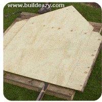 making the playhouse walls b