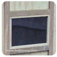 kids cottage window
