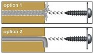 chair fastening options