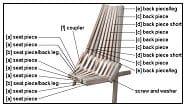 stick chair part identification