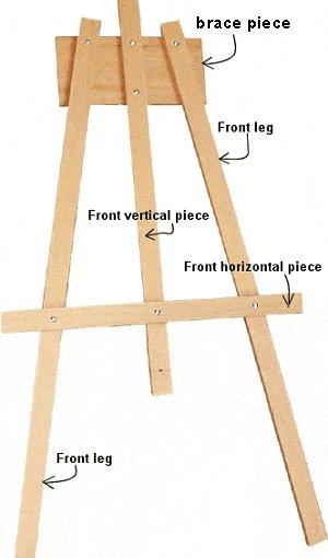 Kids Multipurpose Easel : Easel Frame