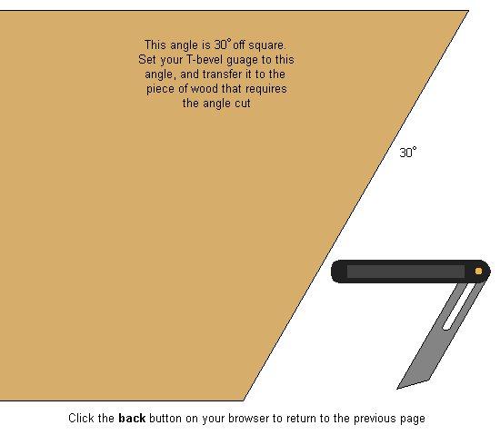 Hexagonal Table Plan : 30 degrees angle