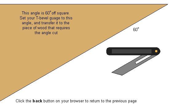 Hexagonal Table Plan : 60 degrees angle
