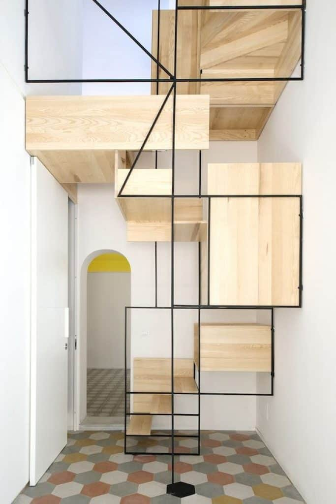 Artistic Staircase by Francesco Librizzi