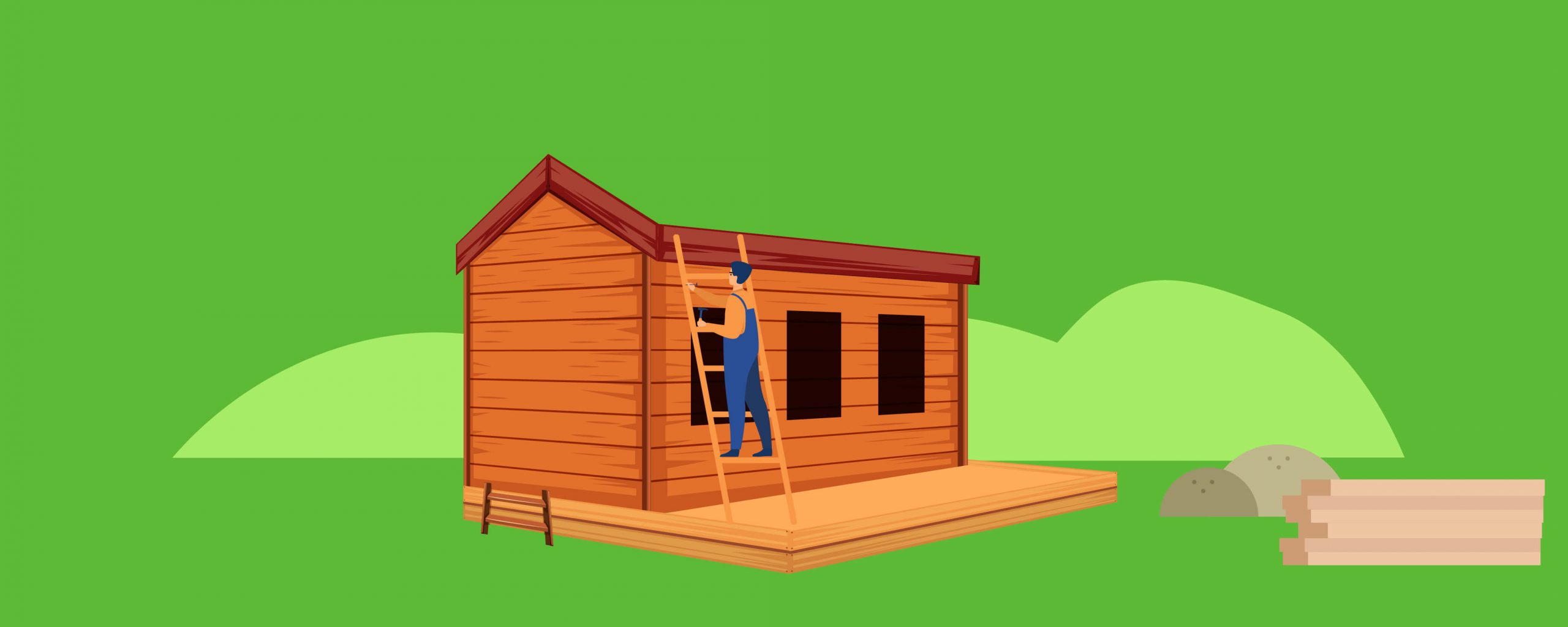 Almost built shed