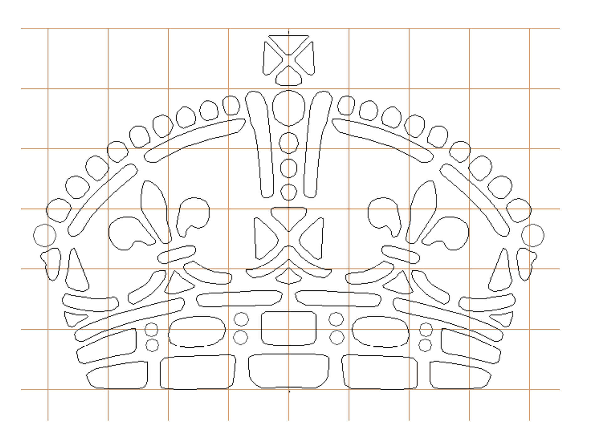 BuildEazy k2 Crown Pattern
