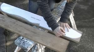Adirondack Chair - Mark the Wood