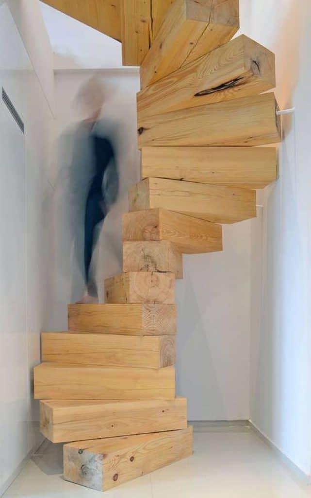 Chunky Staircase by Lucjan Kuc