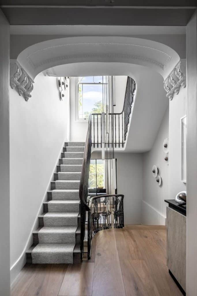 Contemporary Staircase in a modern London home