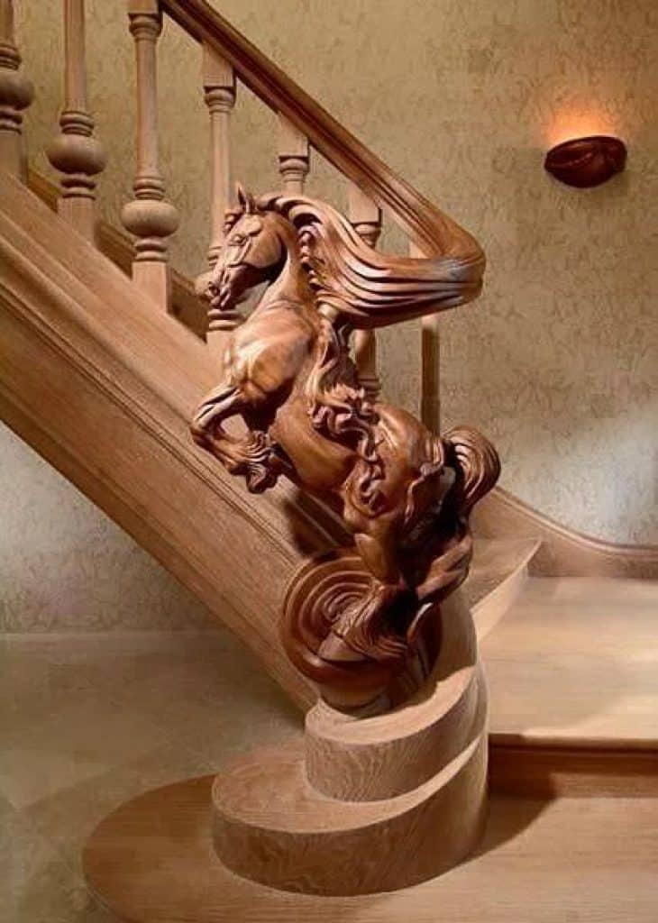 Legendary Horse Staircase by TrapArt