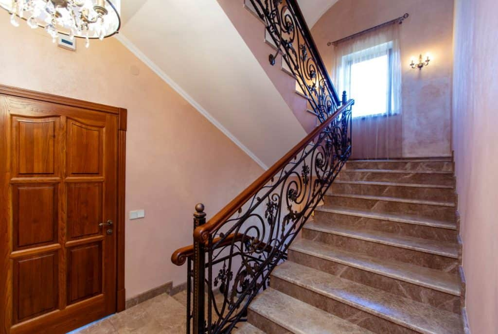 Luxurious Mahogany Stairs