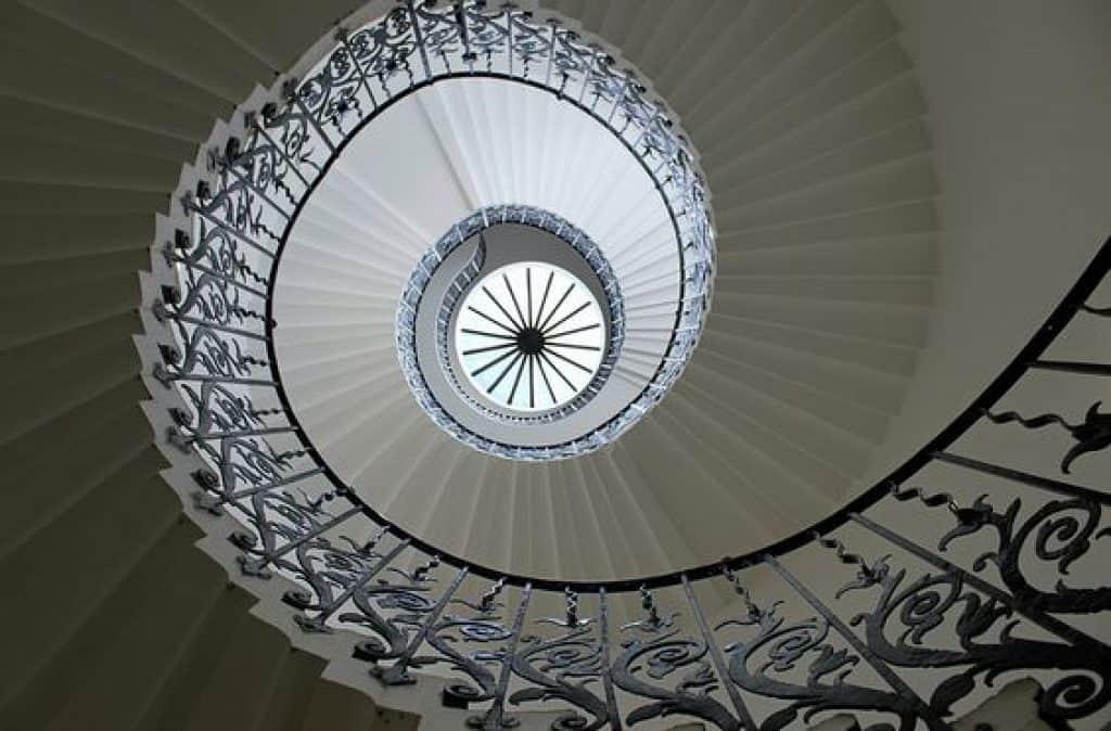 Queen Anne Geometrical Staircase