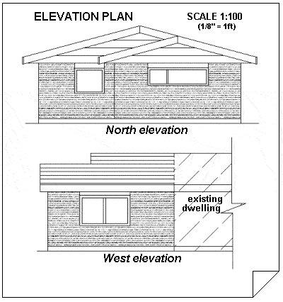 add plan elevation