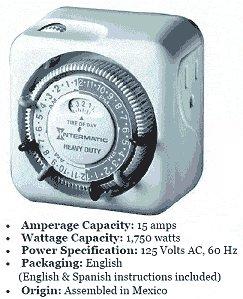 Intermatic 120V Appliance Timer