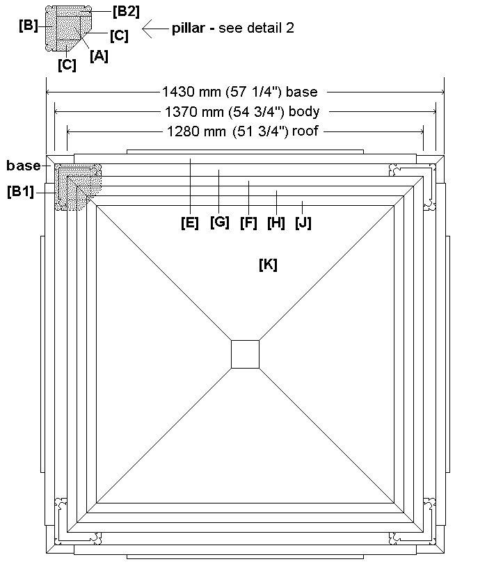 Tardis Plan : foorprint