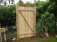 basic 6ft garden gate 12