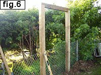 6ft High Fence Gate : The Header