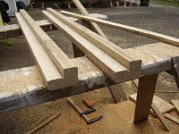 Boot Bench : Making the Back Rest 2