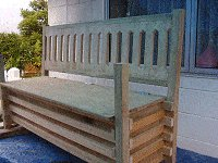 Boot Bench : Making the Back Rest 8