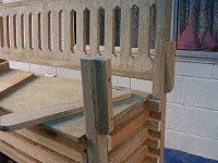 Boot Bench : Making the Back Rest 9