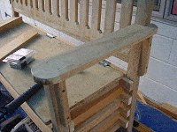 Boot Bench : Making the Back Rest 10