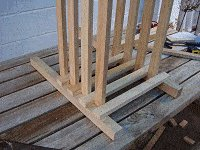 Boot Bench : Making the Boot Box Frame 4