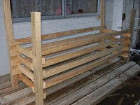 Boot Bench : Making the Boot Box Frame 5