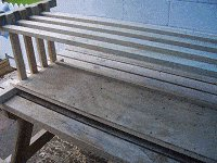 Boot Bench : Making the Boot Box Frame 7